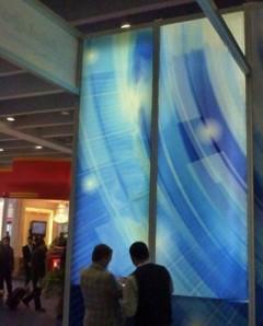 Large EdgeMax LED Edge Lit Fabric Frameless Series Light Boxes